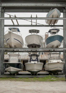 Boats in Storage for the WInter